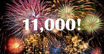 11000 fireworks